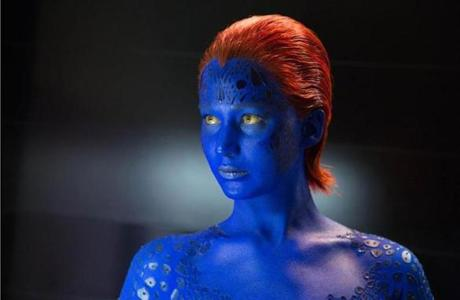"Jennifer Lawrence as Mystique in ""X-Men: Days of Future Past."""